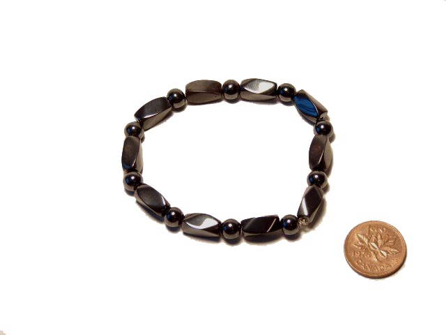 Magnetic Hematite Bracelets help asthma and arthritis - Free info on Healing Benefits with purchase - Free shipping over $60.