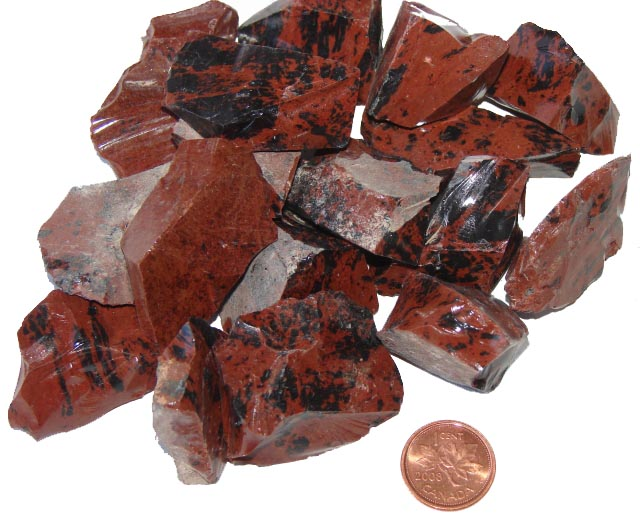Red Obsidian Stone : Where to buy rough mahogany obsidian metaphysical