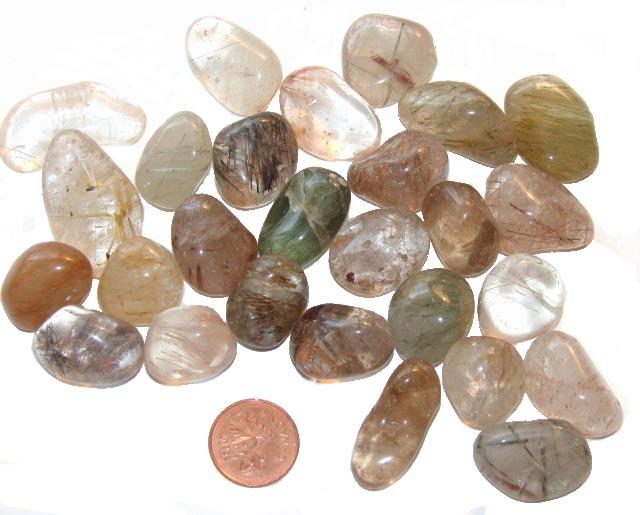 Rutilated Quartz Stones : The metaphysical properties of rutilated quartz stones