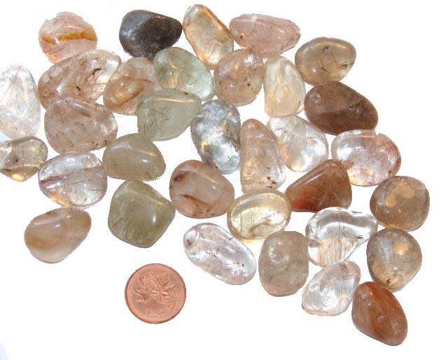 Rutilated Quartz Stones : Where to buy tumbled rutilated quartz stone meaning