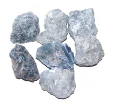 Blue Calcite is a gentle stone that helps you to relax - Free info on healing meanings and how to use with purchase – Free shipping over $60.